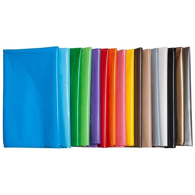 Fixo 72251 - Pack de 25 bolsas disfraz, 56 x 70 cm, color rojo