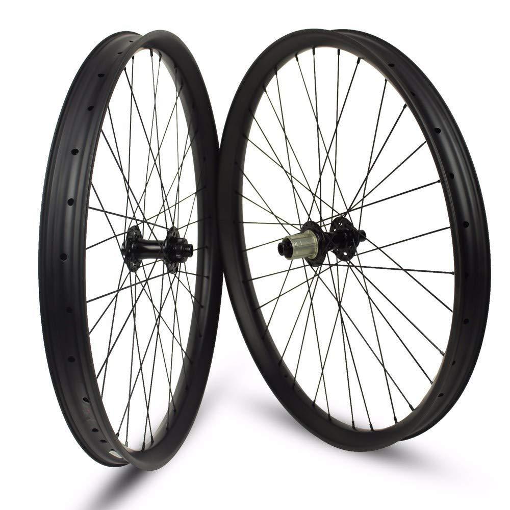 650B Carbon Mountain Bike DH Rim 25mm Depth 50mm Width 28//32Hole Tubeless UD MTB