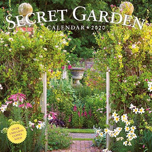 Garden Calendar - Secret Garden Wall Calendar 2020