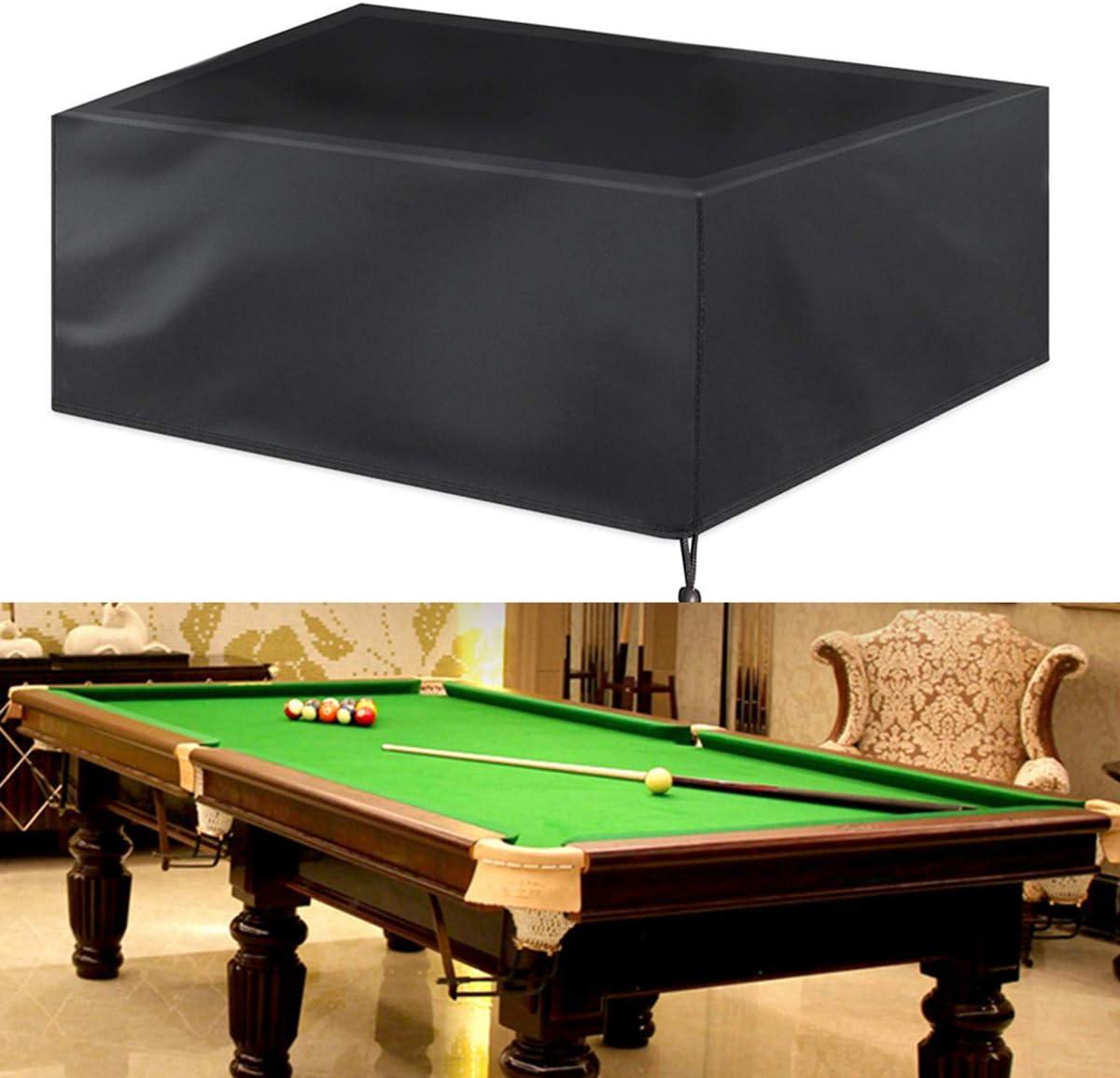 Haokaini Cubierta de Muebles de Jardín 7/8/9 Pies Snooker Mesa de ...