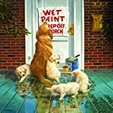 paint puzzle - Wet Paint - Dog and Puppy Puzzle - 1000 pc Jigsaw Puzzle