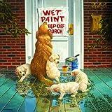 paint puzzle - SunsOut Wet Paint - Dog and Puppy Puzzle - 1000 pc Jigsaw Puzzle