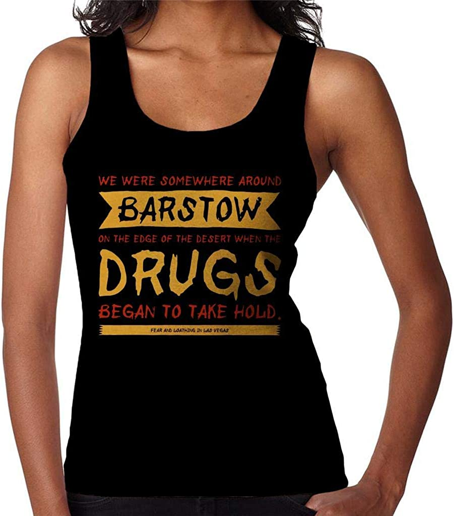 Fear and Loathing in Las Vegas Movie Opening Line Womens Vest