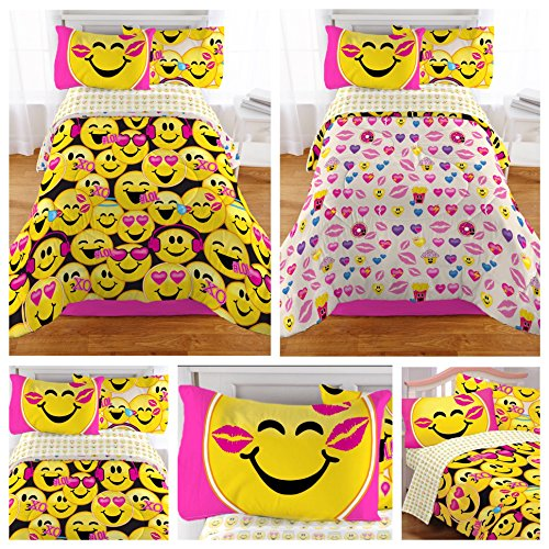 Emoji Twin XL Bedding Set