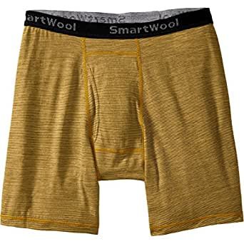 Smartwool NTS Micro 150 Pattern Boxer Brief - Men's Sunglow X-Large
