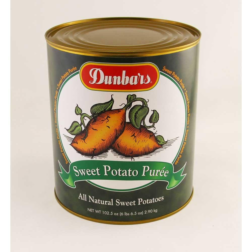 Dunbar Sweet Potato Puree, 108 Ounce -- 6 per case. by Moody Dunbar