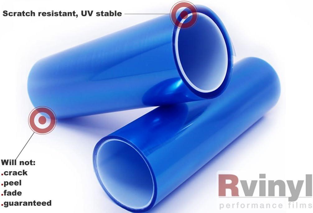 Rvinyl Pro Smoke Tint Tinted Gloss Vinyl Film Cover Wrap Sheet 24 x 12 Smoke