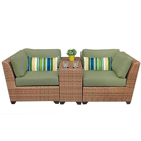 Amazon.com: Vicenza - Juego de mesa y sillas de patio (3 ...