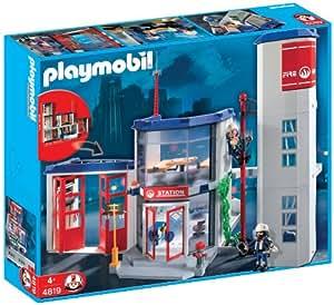 Playmobil Bomberos - Parque de bomberos (4819)