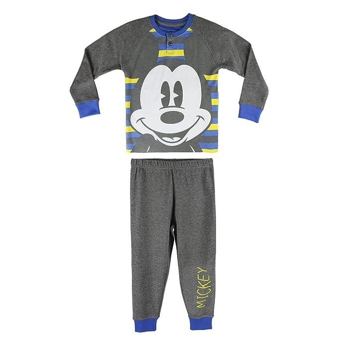 Childrens Pyjama Mickey Mouse 72305 Grey
