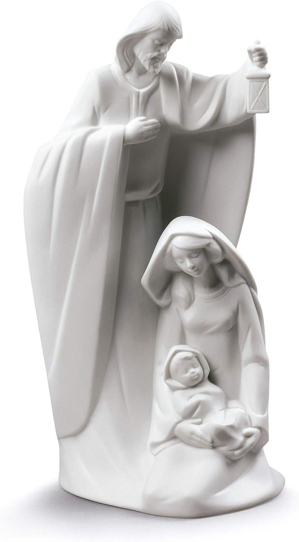 Figura Ha Nacido El Salvador. Nacimiento de Navidad de Porcelana