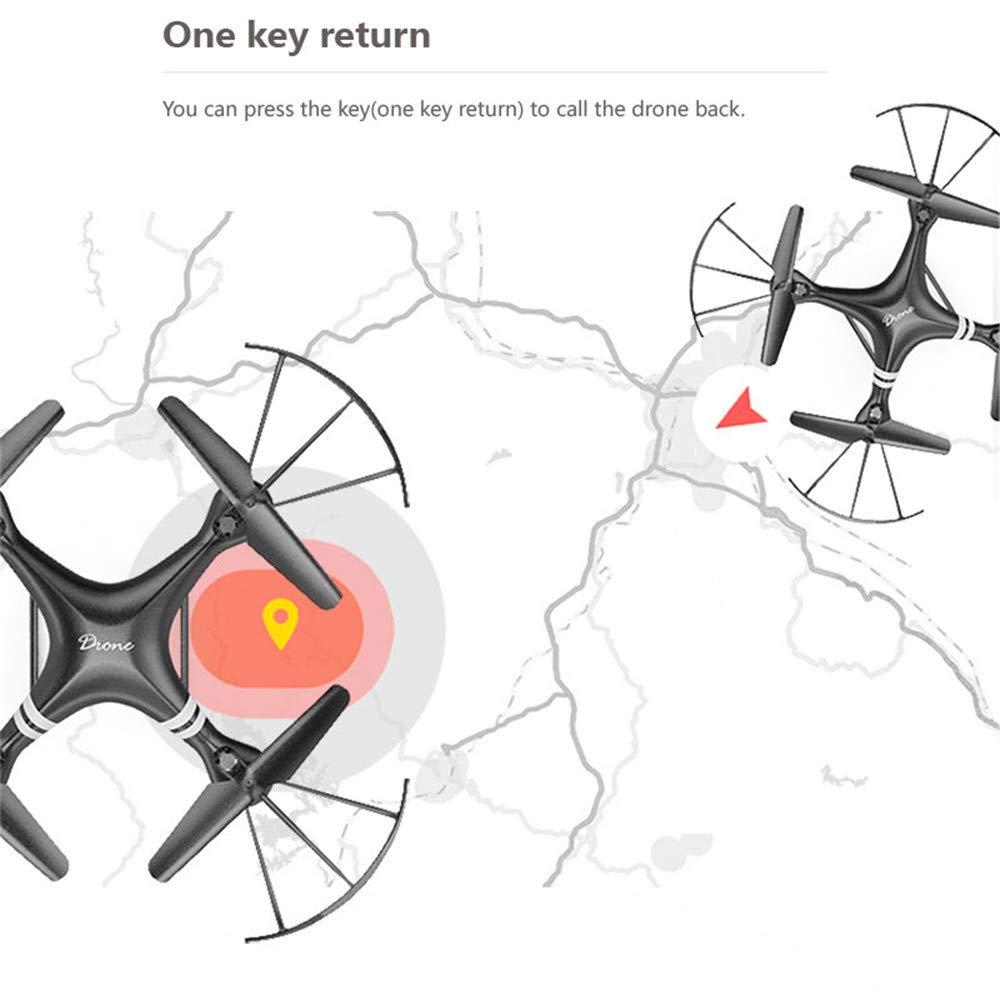 TONGTONG Drohne mit Kamera 1080P, 8 Millionen Luftbildfotografie-Version + VR-Dreielektrische Version (ca. 75 Minuten Flug) für iPhone und Android