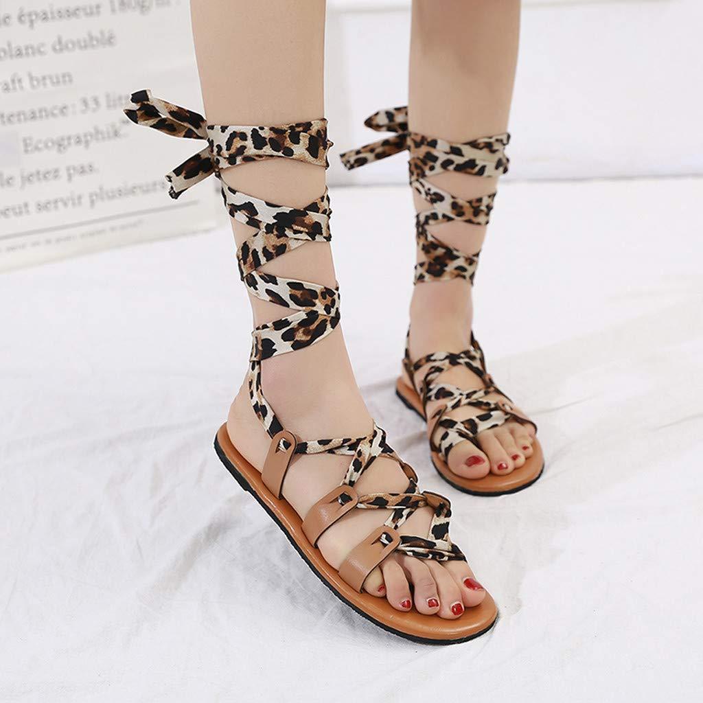 Memela Clearance sale Womens Sandals Ankle Strap Sandals Elastic Band Shoe High Heel Roman Sandals