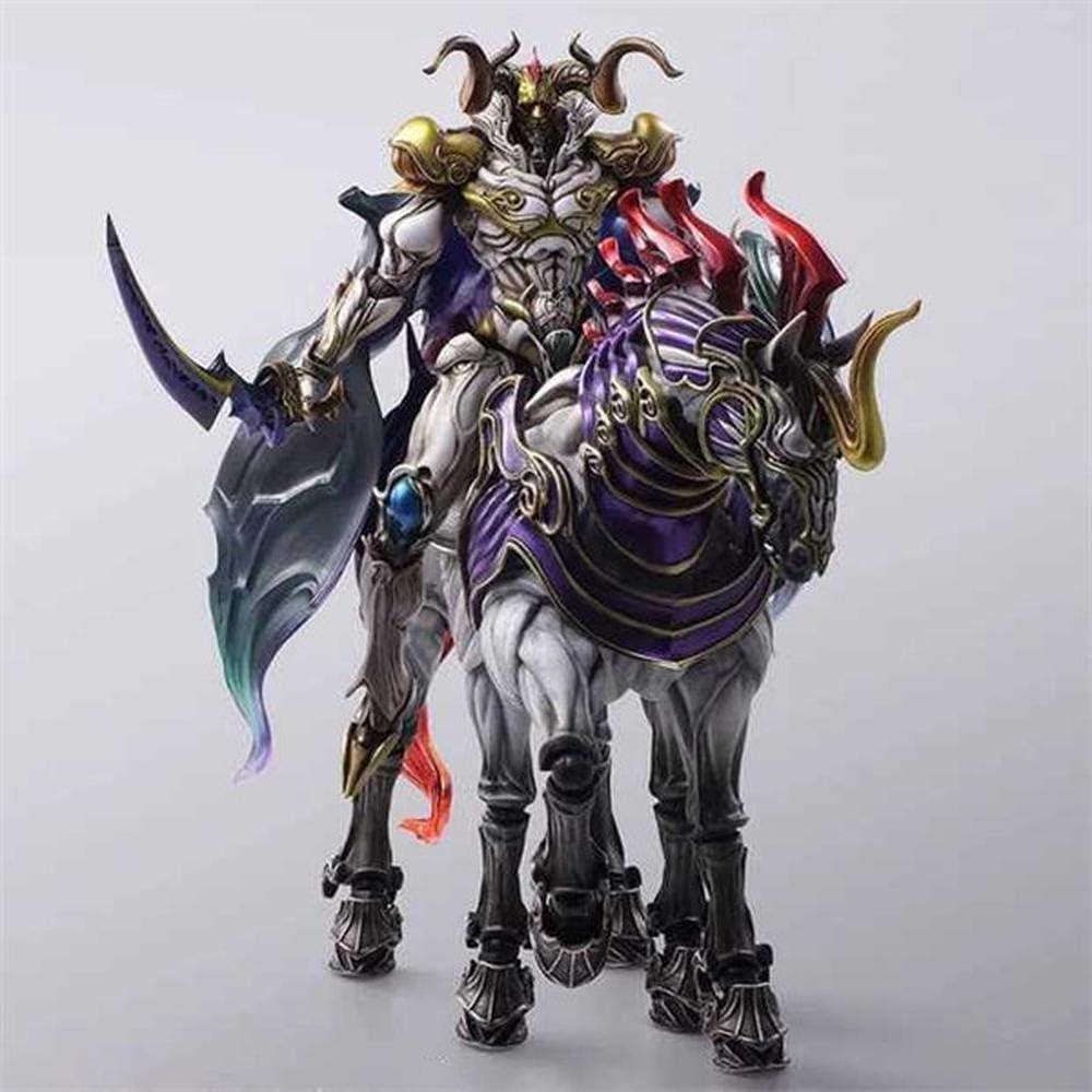 TYYT Odin Toy Mod/èle Jouer Chang/é Final Fantasy Ancien Dieu Movable Boxed Poup/ée Mod/èle D/écoration 24cm A