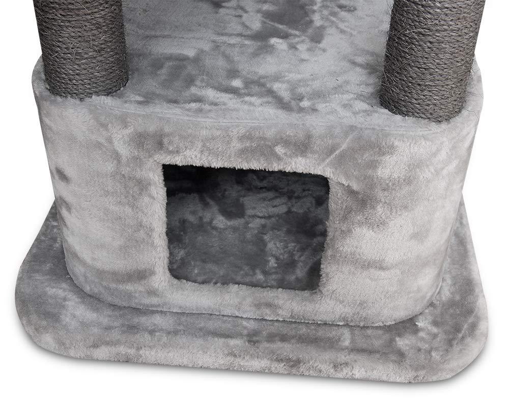 Best Pet Supplies CTF02 Cat Tree Cat Condo, 52'' by Best Pet Supplies, Inc. (Image #4)