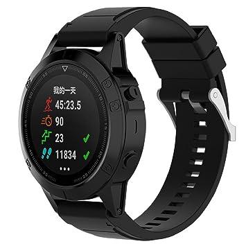 Wawer Garmin Fenix 5x GPS, reloj inteligente de pulsera, de 26