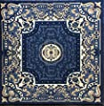 Traditional Area Rug Blue Design 101(9ft2in.x12ft.5in.)