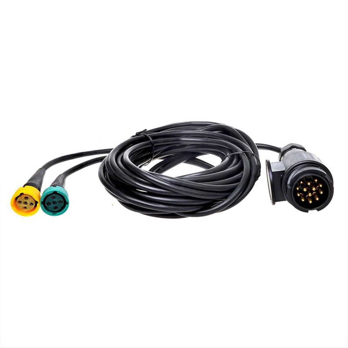 Cable de 5 m con conector de 13 pines y 2 x Conector de 5 pines 343088 PAT Europe BV