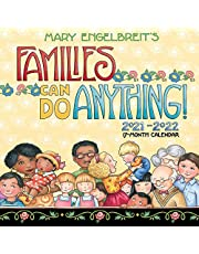Mary Engelbreit Families Can Do Anything! 17-Month 2021-2022 Family Calendar