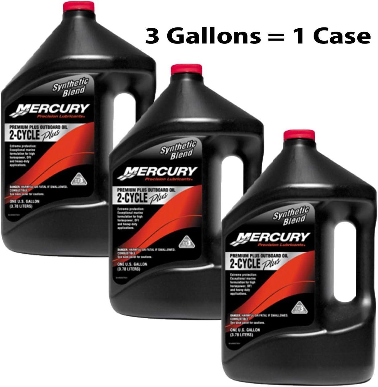 Amazon.com: OEM Mercurio Premium Plus – Aceite sintético ...