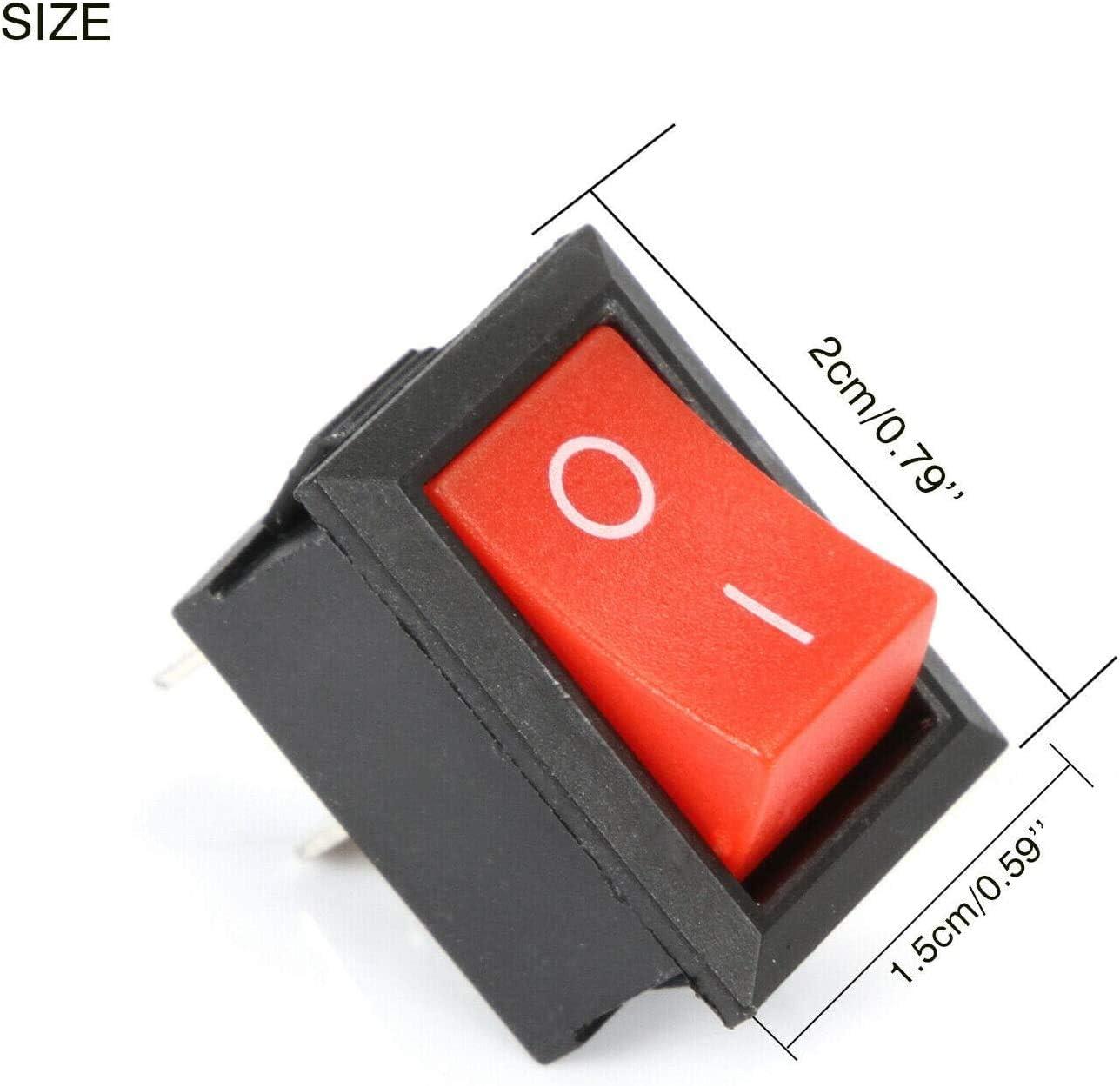 Myshopx Kippschalter Wippschalter Schalter On Off 3a 250v Ein Aus 1 StÜck 13 Auto