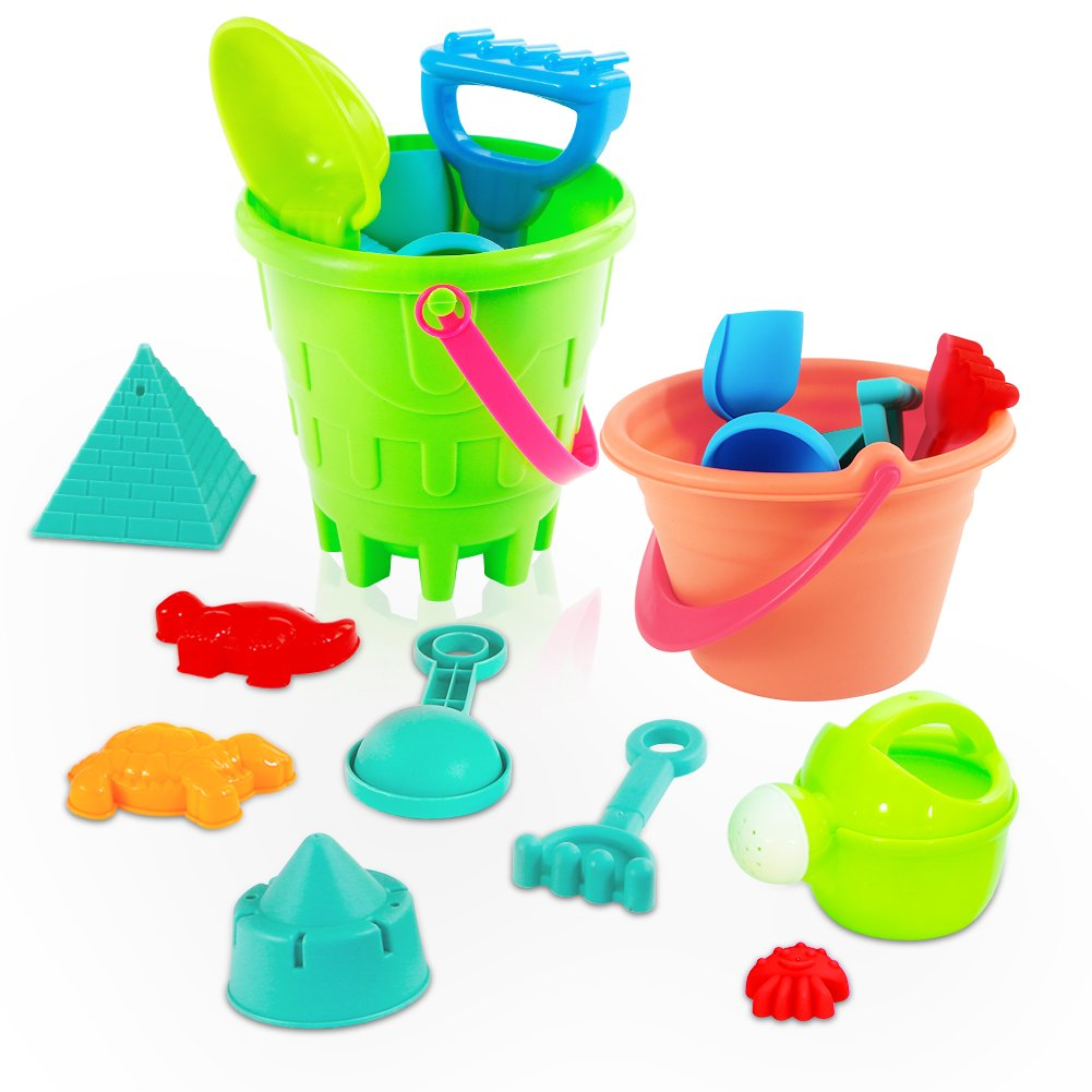 Beach/sand Toys Pools & Water Fun Baby Classic Plastic Play Sand Buckets Rakes Shovels Trucks Car Soft Beach Toys Set Children Garden Summer Seaside Toy For Kids Latest Technology