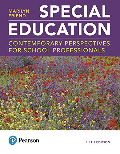 MyLab Education with Enhanced Pearson eText -- Access Card -- for Special Education: Contemporary Perspectives for School Professionals (5th Edition)