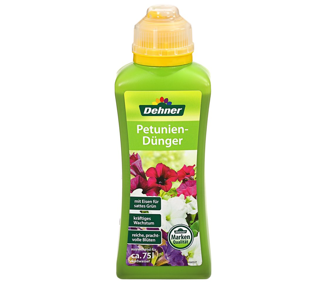 Dehner Petunien und Surfiniendünger, 500 ml, für ca. 75 l für ca. 75 l 495994