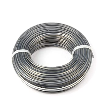 250 mm +//- 5 mm B/&T Metall PVC schwarz Rundstab /Ø 90 mm Au/ßendurchmesser mit Plustoleranz 25 cm L/änge ca