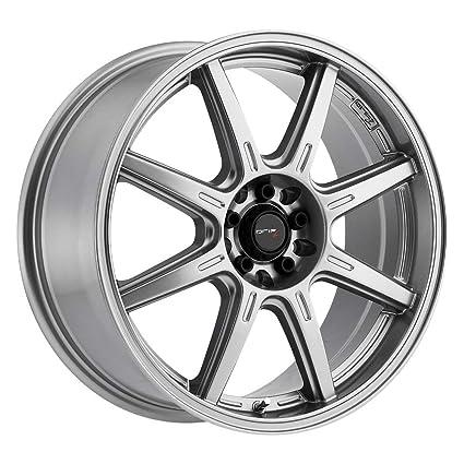 Amazon com: Drifz 308GG Spec-R Gloss Graphite Wheel with