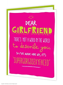 Brainbox Candy Funny Humorous Girlfriend Supergorgosexyfaceo Birthday Greetings Card