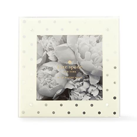 Amazon Kate Spade Picture Frame Silver Dot 177358 Office