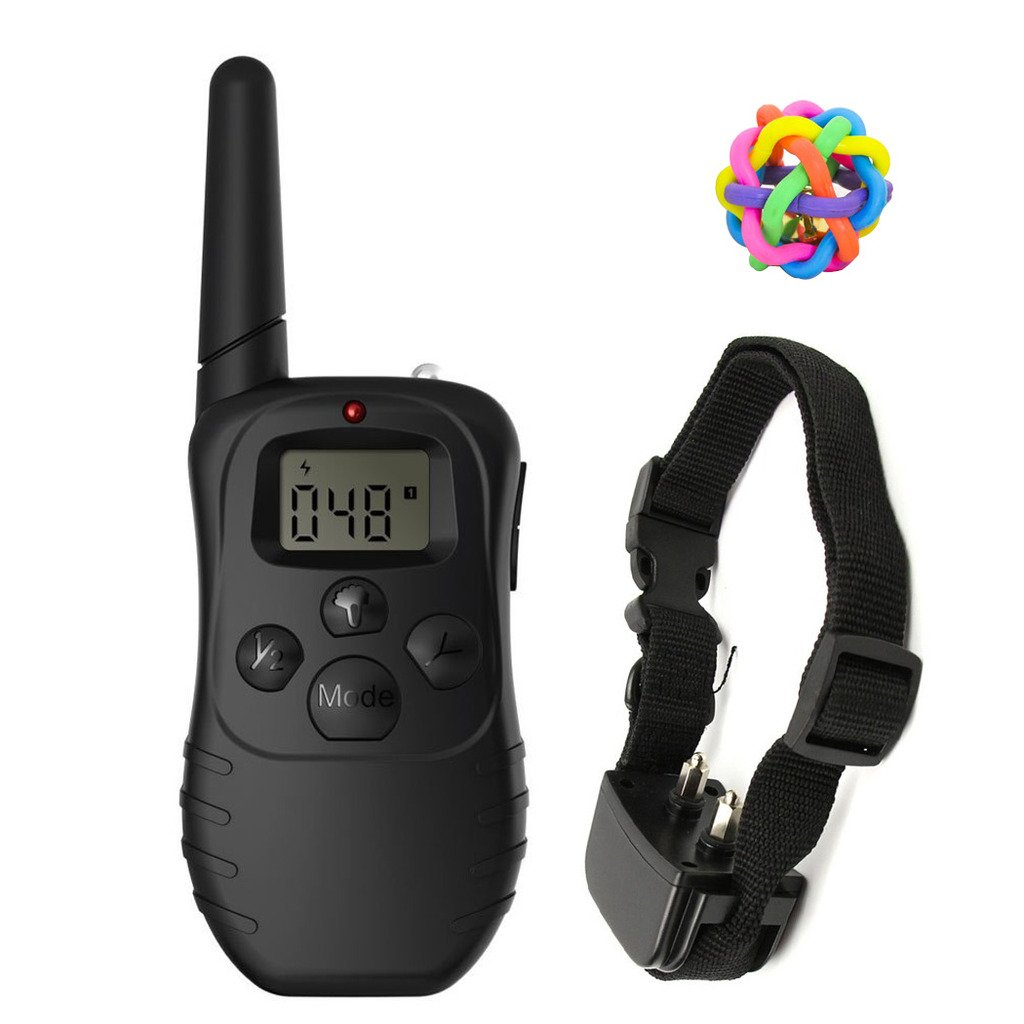 Pet Training Collar With Shock Vibration Beep Electric Remote Dog Training Co.. 12
