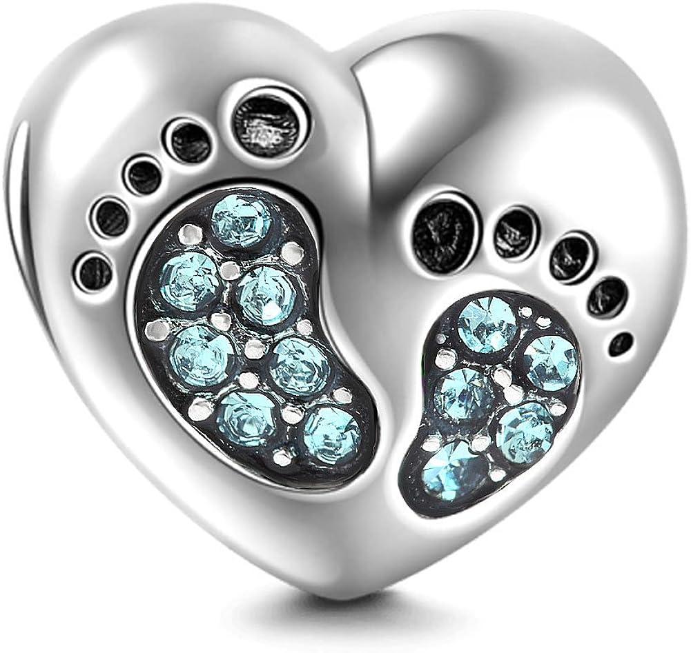 Heart Love Baby Footprints...