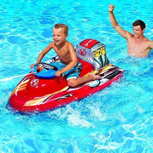 Banzai Motorized Speed Boat Blast Your Friends As You