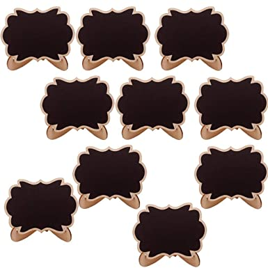 Acecore - 10 Mini pizarras para café, borrables, útiles para ...