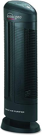 Ionic Pro 90IP01TA01W Turbo purificador de aire iónico, capacidad de 500 pies cuadrados, negro (granulado): Amazon.es: Hogar