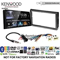 Volunteer Audio Kenwood DDX9904S Double Din Radio Install Kit with Apple CarPlay Android Auto Bluetooth Fits 2005-2006 Nissan Altima (Without Bose)
