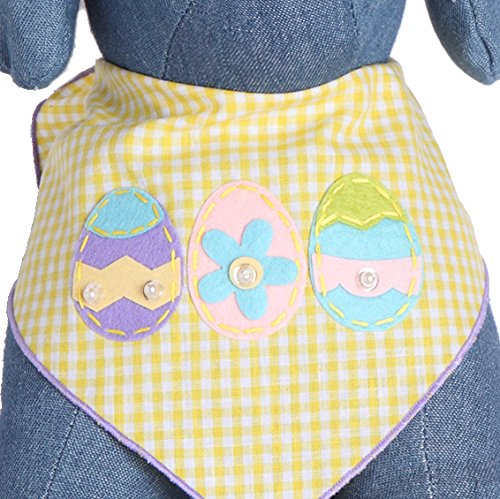 Pictures of Tail Trends Easter Dog Bandanas with Easter 1
