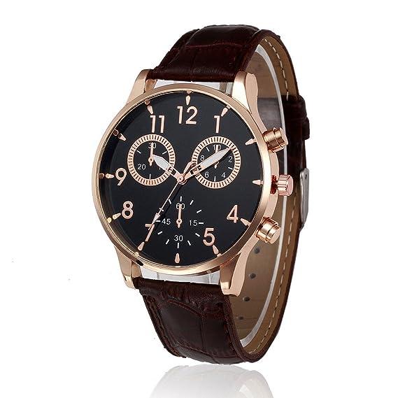 Mens relojes de cuarzo Cooki Remoción Unique analógico relojes baratos en venta de piel Para Muñeca