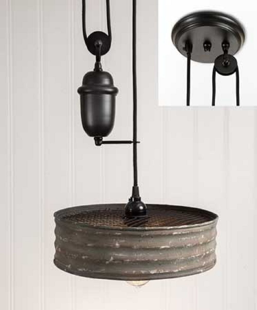 CTW Sifter Pulldown Pendant Lamp by CTW Home Collection