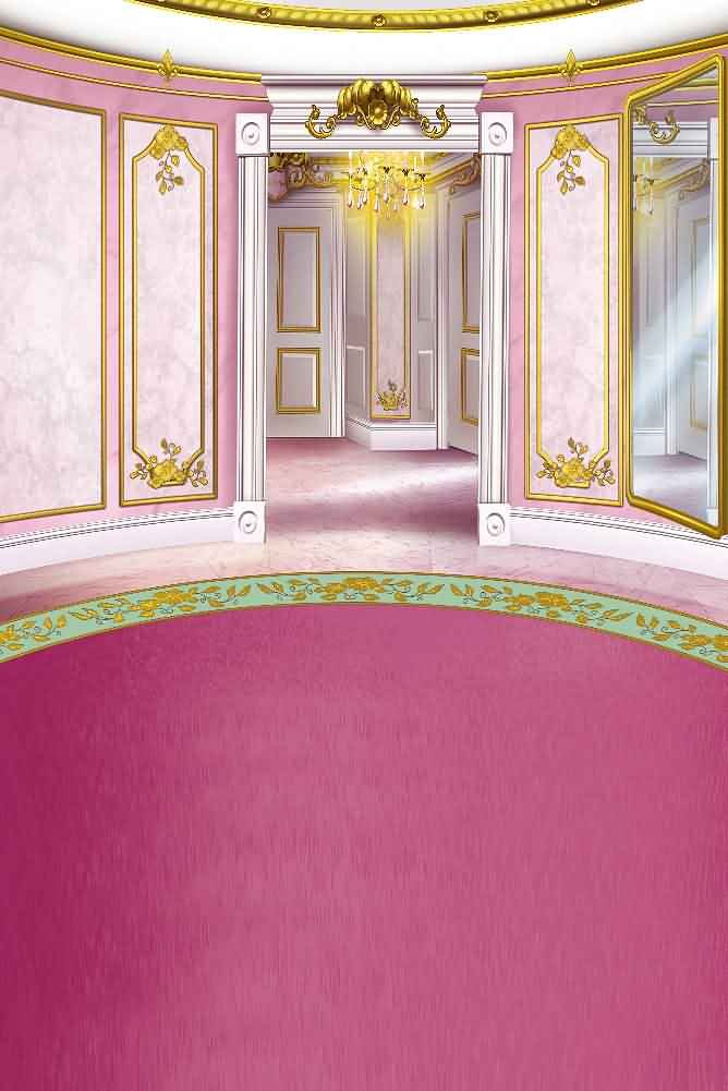 GladsBuy Lovely House 8' x 12' Digital Printed Photography Backdrop Indoor Theme Background YHB-189