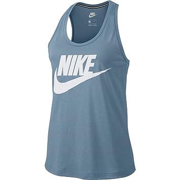 Nike Tank Top – Sportswear Essential Blue White Size  XS (X-Small 37eacf0aeff