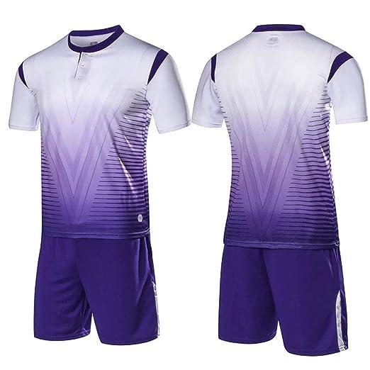 GJFENG Sportswear Traje De Fútbol Traje De Verano ...