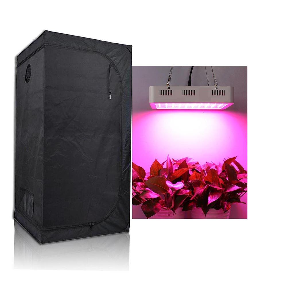 TopoGrow LED 300W Grow Light kit for Plant Germination Kits Indoor Hydroponics System, LED300W Grow Light