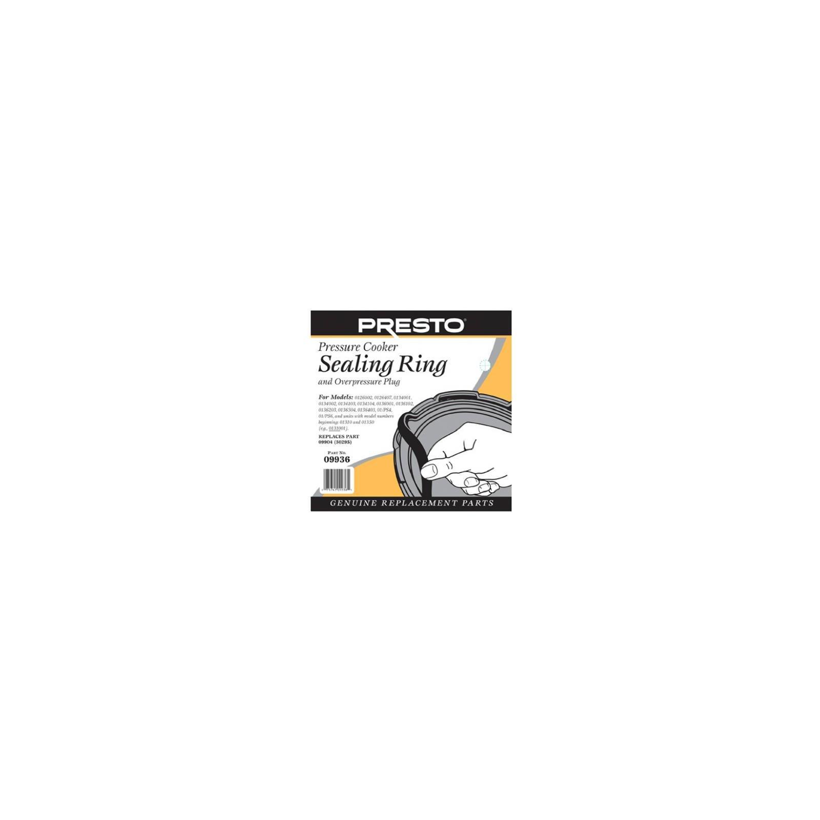 Presto 09936 Pressure Cooker Sealing Ring