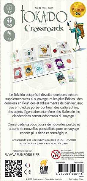 Board Games Expansions and Upgrades Tokaido Crossroads