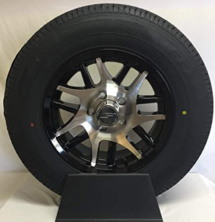 15 Inch Tires >> Amazon Com 15 Inch 5 Lug Aluminum Trailer Wheel With Tire