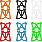STARUBY Phone Rubber Band Multi Color Replacement Security Rubber/Silicone Elastic Bands for Bicycle Bike, Motorcycle…