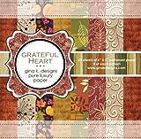 Gina K. Designs 6 X 6 Patterned Paper Pack - Grateful Heart